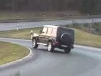 [Vidéo]: Du drift... en Mercedes Classe G !