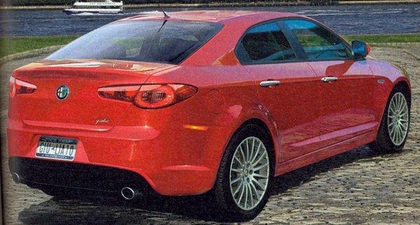 Future berline Alfa : le retour de la Giulia