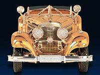 Mercedes 540K : un bijou en or