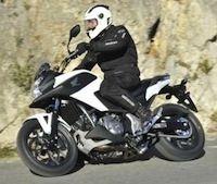 Nouveauté 2014: la Honda NC700X gagne 50 cc