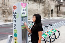 Le Grand Avignon accueille un système de vélos en libre-service : Vélopop