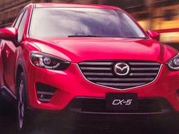 Le Mazda CX-5 restylé en fuite avant le salon de Los Angeles!