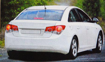 Future Chevrolet Cruze : ça s'annonce bien