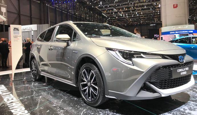 Toyota Corolla Trek: classe verte - Vidéo en direct du salon de genève 2019