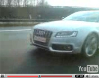 Audi A5 en vidéo live