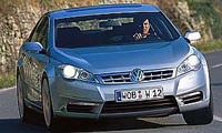 Future VW Phaeton: rétrécie et virilisée