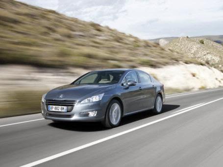 La Peugeot 508 élue voiture de l'année au Portugal