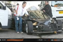 Accident : une magnifique Pagani Zonda F se crashe à Hong Kong
