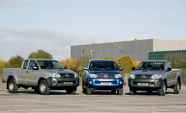 Quelques nouveautés pour le Toyota Hilux
