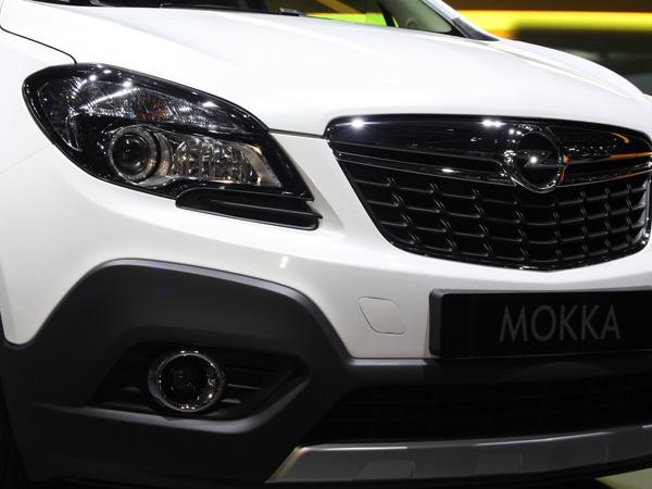 En direct de Genève : Opel Mokka en vidéo , premier SUV compact de la marque