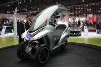 Le Peugeot HYmotion3 hybride devrait être produit d'ici 2011