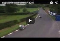Dundrod 150: accident de Guy Martin (vidéo)