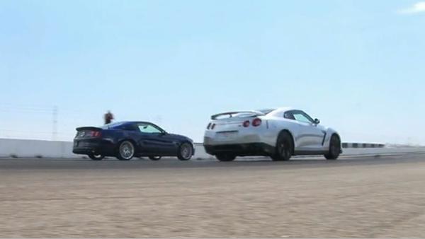 [Vidéo] Duel d'accélération - Nissan GT-R contre Shelby GT500 Super Snake, le comparatif qu'on attendait