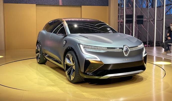 Présentation vidéo - Renault Mégane eVision: le futur électrique de la compacte selon Renault