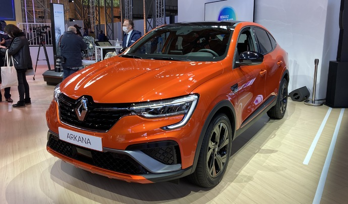 Présentation vidéo - Renault Arkana : premier SUV coupé