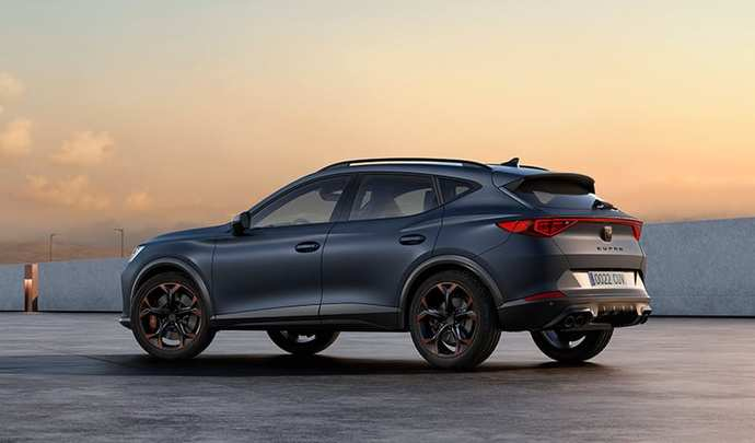 Cupra : le Formentorserait proposéavec le 5 cylindres Audi