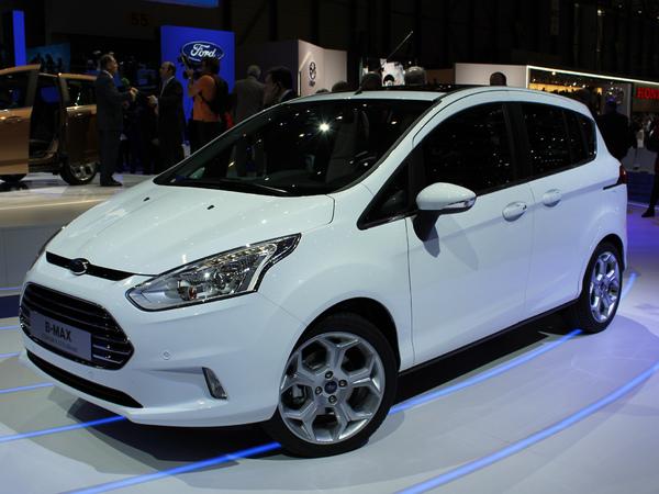 Vidéo en direct de Genève 2012 - Ford B-Max : révolutionnaire ?