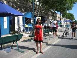 Reportage à Paris Plages 2009 : expérimentez la mobilité non polluante!