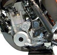 Leo Vince: du carbone pour la KTM EXC-F 250 (2012)