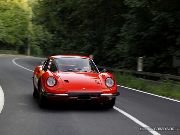 Photos du jour : Dino 246 GT