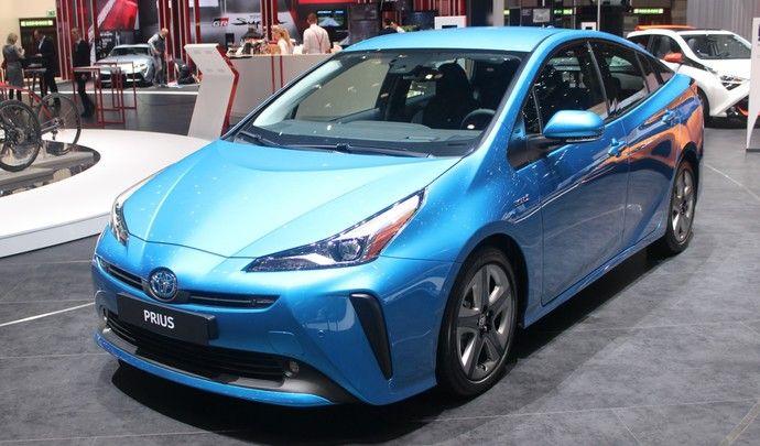 Toyota Prius restylée (2019) : plus sage - Vidéo en direct du salon de Genève