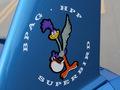 """HPP Superbird : le retour de """"roadrunner"""" sur fond de Dodge Challenger"""