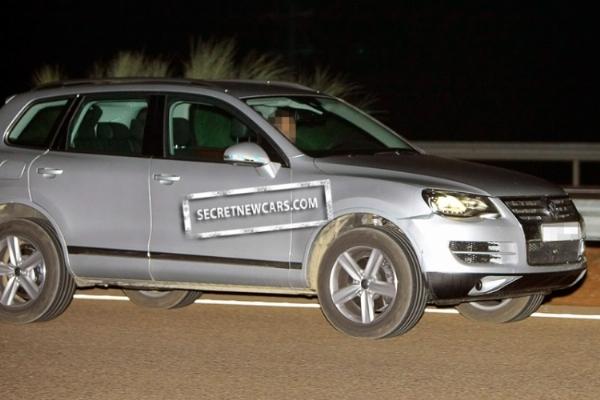 Spyshot : le futur Volkswagen Touareg ne cache plus rien