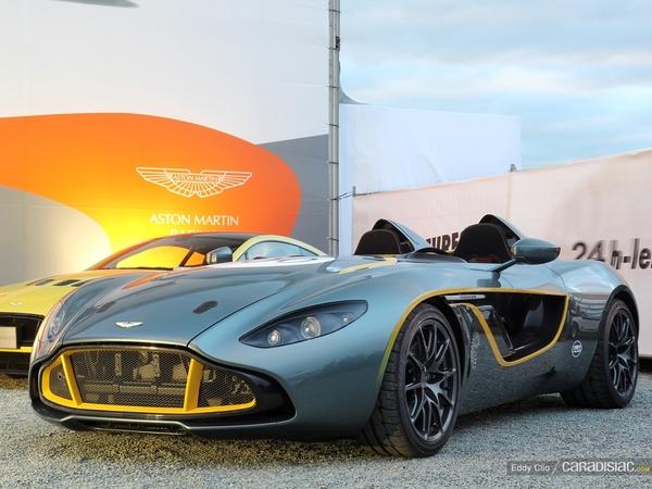 Photos du jour : Aston Martin CC100 (Le Mans)