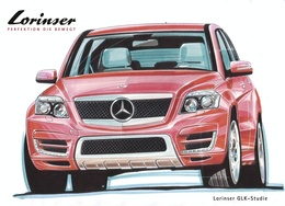 Mercedes GLK par Lorinser