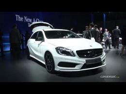 En direct du salon de Genève 2012 - La vidéo de la Mercedes Classe A