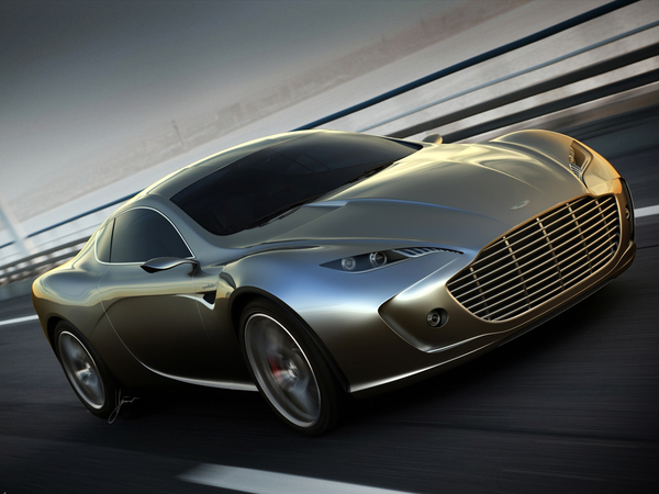 [Design] Aston Martin Gauntlet par Ugur Sahin : One-77 effilée