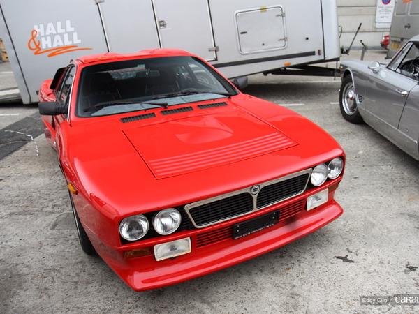 Photos du jour : Lancia Abarth 037 (Rétromobile)