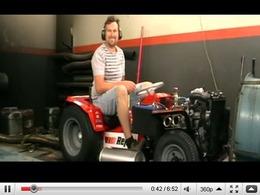 Tondeuse à gazon à moteur rotatif : l'herbe ne repoussera pas