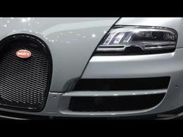 En direct du salon de Genève 2012 - La vidéo de la Bugatti Veyron