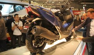 Salon de Milan 2017 en direct : Kymco Xciting S 400