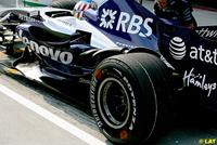 F1 : Bridgestone a testé de nouveaux marquages sur ses pneus