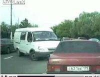Des embouteillages ? La solution russe en vidéo !
