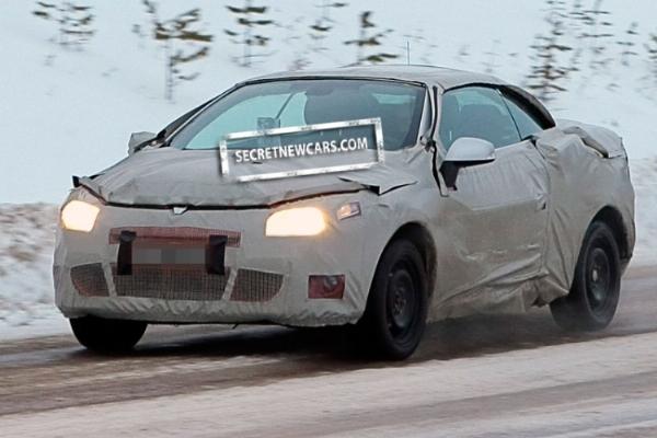 Spyshot : future Renault Megane CC