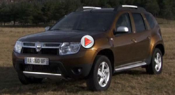 [vidéo] Dacia Duster, immobile mais en vidéo