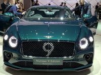 Bentley Continental GT Number 9: anniversaire discret - En direct du Salon de Genève 2019