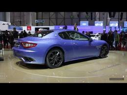 En direct du salon de Genève 2012 - La vidéo de la Maserati GranTurismo Sport