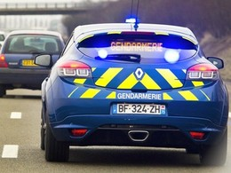 Découvrez en photos et vidéo la nouvelle Renault Mégane R.S Gendarmerie