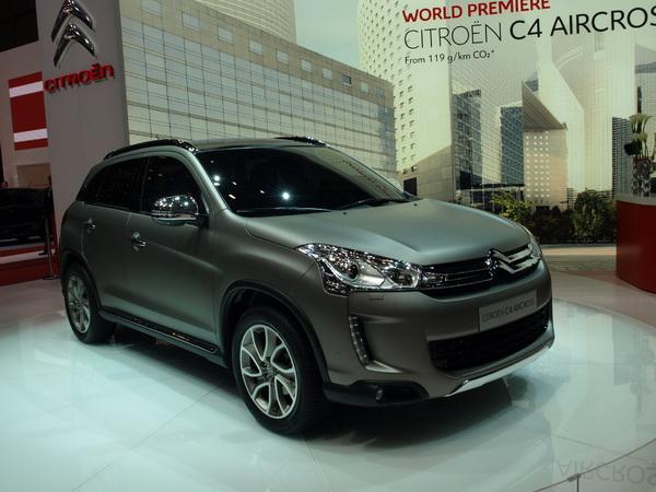En direct de Genève 2012 - La Citroën C4 Aircross en vidéo