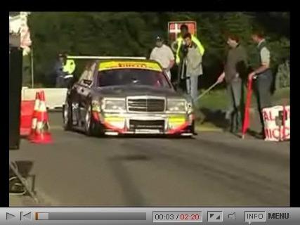 Mercedes 190E à V8 F1 Judd, un taxi pressé