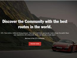 L'Application de Porsche qui vous indique les plus belles routes du monde