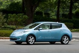 La première auto électrique de Nissan: la LEAF