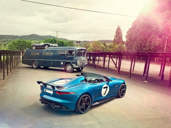 Jaguar Project 7: elle ne rend pas hommage à la Type D