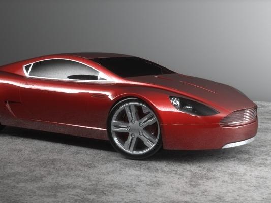 [Design] Aston Martin Supercar Concept par Edouard Gray : une belle One-77