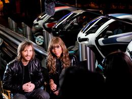 Cathy & David Guetta, ambassadeurs de la Renault Twizy