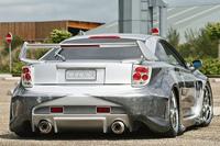 Toyota Celica par Ludovic Permanne: fat & curious